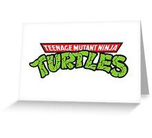 Teenage mutant ninja turtles! Greeting Card
