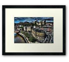 Newcastle Skyline Framed Print