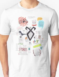 The Mortal Instruments collage T-Shirt