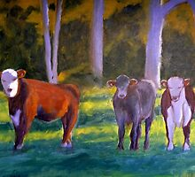 My Cows by Angela Iliadis