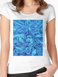 rhyme of the sea Women's Fitted Scoop T-Shirt