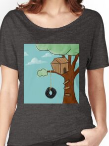 Treehouse Women's Relaxed Fit T-Shirt