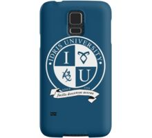 Idris University (dark-based) Samsung Galaxy Case/Skin