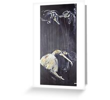Hands of the Puppeteer Greeting Card