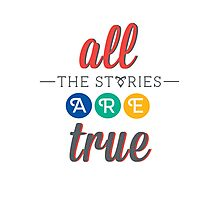 """The Mortal Instruments: """"All the stories are true"""" Photographic Print"""