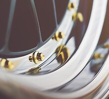 BBS LM with Gold Bolts and Polished Lips by Jacob Brcic