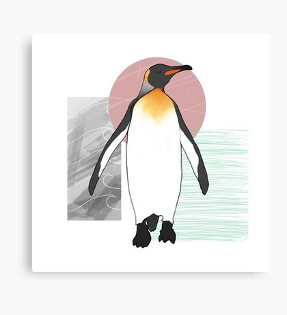 Emperor Penguin Canvas Print