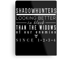"The Mortal Instruments: ""Shadowhunters"" Metal Print"