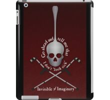 Invisible Not Imaginary iPad Case/Skin