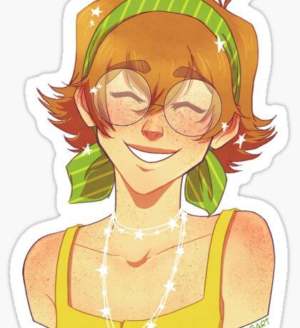 Freckly Pidge  Sticker
