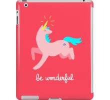 Wonderful Unicorn iPad Case/Skin