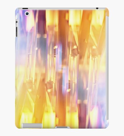 vibrant and colourful abstract design iPad Case/Skin