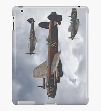 The Battle Of Britain Memorial Flight - Shoreham 2014 iPad Case/Skin