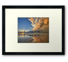 Sunset Spectacular Framed Print