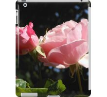 Backlit Pink Roses iPad Case/Skin