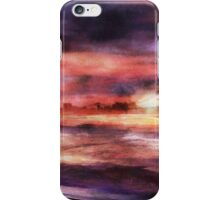 The Red Sunset iPhone Case/Skin