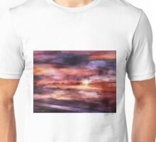 The Red Sunset Unisex T-Shirt
