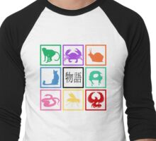 Monogatari-02 Men's Baseball ¾ T-Shirt