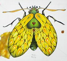 Moth  (original sold) by federico cortese