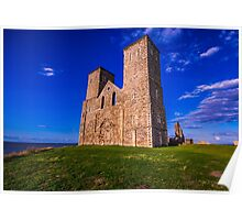 Reculver Castle, Kent, UK Poster