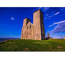 Reculver Castle, Kent, UK Photographic Print
