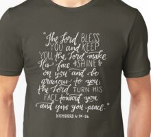 Numbers 6:24-26 Unisex T-Shirt