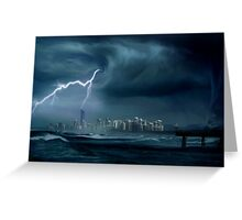 Gold Coast storm Greeting Card