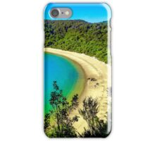 Beautiful beach at Abel Tasman National Park, New Zealand iPhone Case/Skin