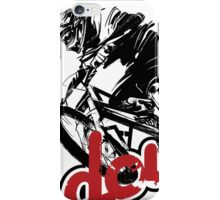 MTB downhill iPhone Case/Skin