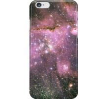 Young stars scuplt gas with powerful outflows iPhone Case/Skin