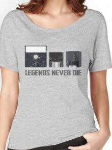 Legends Never Die Data Discs Women's Relaxed Fit T-Shirt