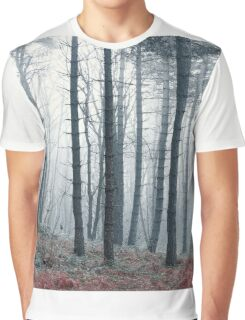 Hazy Forest Graphic T-Shirt
