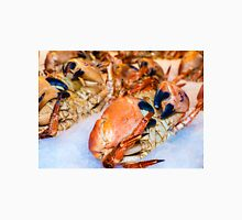 Closeup view on fresh crabs in the market Unisex T-Shirt