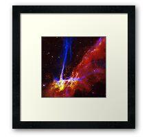 Cygnus Loop Supernova 2 Framed Print