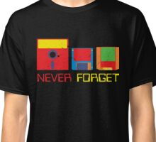 Never Forget Digital Data Formats Classic T-Shirt