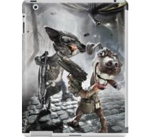 Cool cat and dog iPad Case/Skin