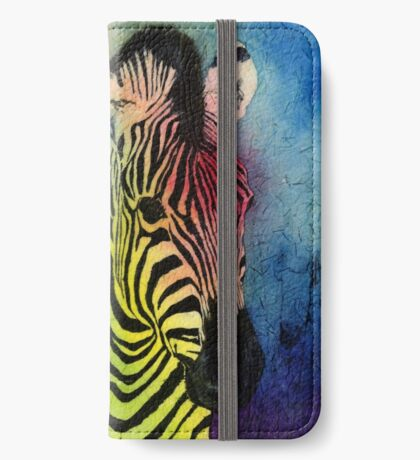 Rainbow Zebra iPhone Wallet/Case/Skin
