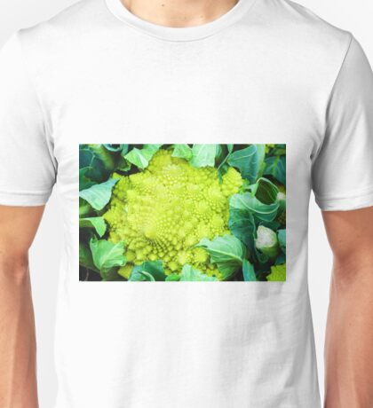 Romanesco broccoli cabbage or Green cauliflower Unisex T-Shirt
