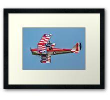 DH82A Tiger Moth II K2585 G-ANKT Framed Print