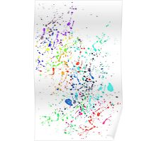 The Paint Splatter Mk II Poster