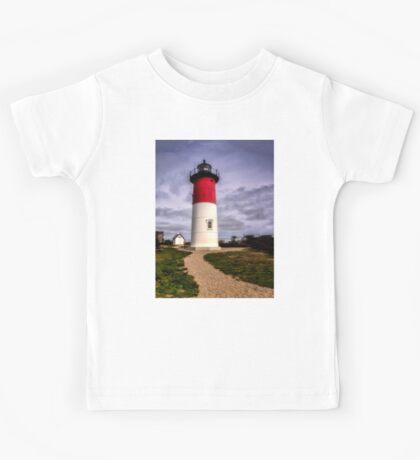 Nauset Lighthouse - Cape Cod Kids Tee