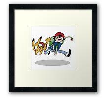 Poketime Framed Print
