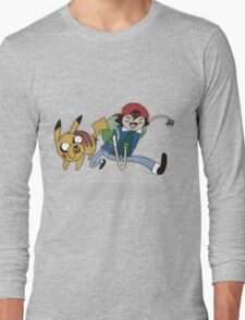 Poketime Long Sleeve T-Shirt