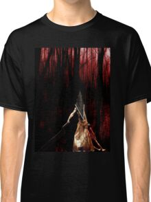Pyramid Head wish you a happy Halloween Classic T-Shirt