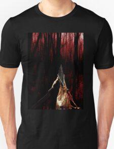 Pyramid Head wish you a happy Halloween Unisex T-Shirt