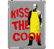 KISS THE COOK iPad Case/Skin