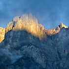 Sunrise at Leukerbad by Charles Kosina