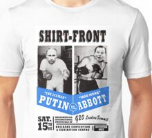 #Shirtfront - blue Unisex T-Shirt