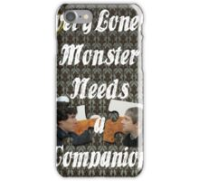 Every Lonely Monster...[Johnlock] iPhone Case/Skin