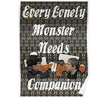 Every Lonely Monster...[Johnlock] Poster